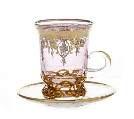 Набор для чая АЛЛЕСИЯ Decotechsrl на 6 персон 12 предметов