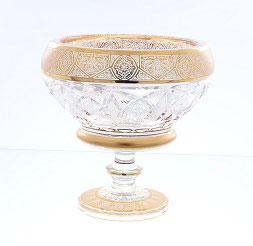 Хрустальная ваза для конфет Max Crystal 20 см
