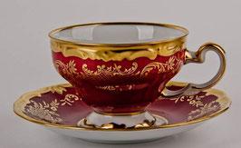 Набор для чая Weimar ЮВЕЛ Красный на 6 персон 12 предметов ( артикул МН 32127 В )