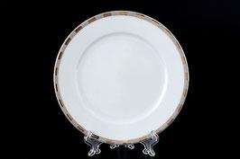 Набор десертных тарелок Thun ОПАЛ ПЛАТИНОВЫЕ ПЛАСТИНКИ 17 см