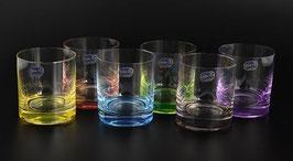Набор стаканов для виски АЛЕКСАНДРА КАЛОРС Bohemia Crystal 260 мл