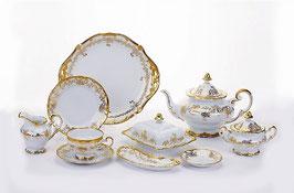Немецкий чайный сервиз Weimar КАСТЭЛ на 6 персон 30 предметов ( артикул МН 30176 В )