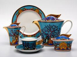 Немецкий чайный сервиз  Roshental ЛЕС ТРЕСОРС на 6 персон 21 предмет ( артикул МН 11178 В )
