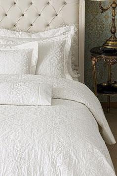 Постельное Белье VALERON SATIN  2 спальное PRIVA молочный