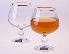 Набор бокалов для бренди КЛАУДИЯ Bohemia Crystal 250 мл