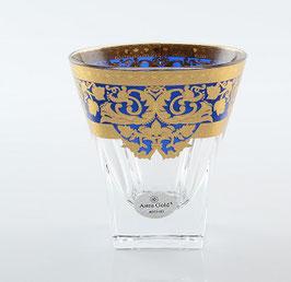 Набор стаканов для виски Astra Gold NATALIA BLUE GOLD 200 мл