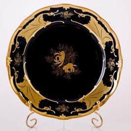 Набор закусочных тарелок Weimar КЛЕНОВЫЙ ЛИСТ СИНИЙ 19 см ( артикул МН 2264 В )