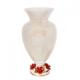 Ваза для цветов White Crystal РОБЕРТО 23*23*41 см