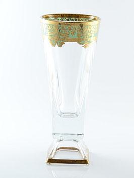 Ваза для цветов Astra Gold NATALIA GOLDEN TURQUOISE DECOR 38 см