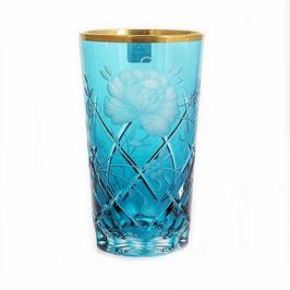 Набор хрустальных стаканов Arnstadt ROZA БИРЮЗА 320 мл