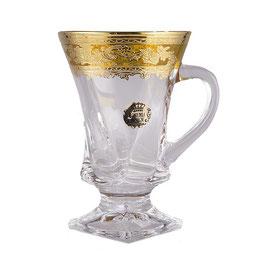 Набор кружек для кофе КВАДРО МЕДОВЫЕ Bohemia Design на 6 персон