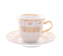 Набор для чая НАТАЛИ Thun на 6 персон 12 предметов
