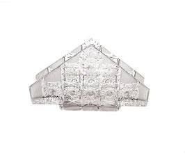 Хрустальная салфетница Glasspo 17 см