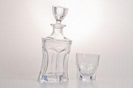 Набор  для виски АКАПУЛКО Bohemia Crystal 7 предметов