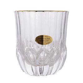 Набор стаканов для виски Union Glass АДАЖИО ГОЛД 350 мл