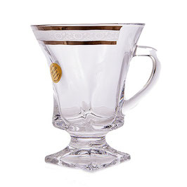 Набор кружек для чая Union Glass КВАДРО GARDEN на 6 персон