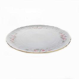 Блюдо для торта Bernadott РОЗА СЕРАЯ 32 см