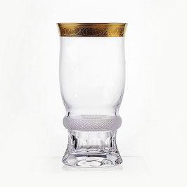 Набор стаканов ДЖЕССИ ЗОЛОТОЙ ОБОДОК Kvetna 300 мл