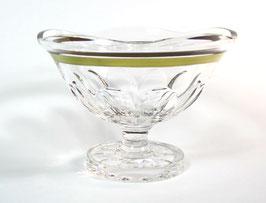Хрустальная ваза для фруктов ARNSTADT ПАЛАИС ЗОЛОТО 23 см ( артикул МН 28197 В )