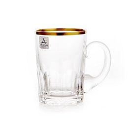 Немецкий Хрусталь ARNSTADT.  Набор для чая ПАЛАИС 180 мл ( артикул МН 28216 В )