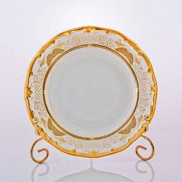 Набор десертных тарелок Weimar СИМФОНИЯ ЗОЛОТАЯ 17 см ( артикул МН 2296 В )
