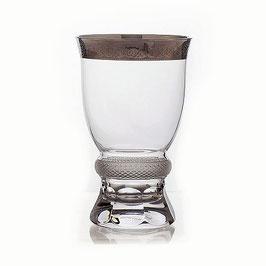 Набор стаканов ДЖЕССИ ПЛАТИНОВЫЙ ОБОДОК Kvetna 250 мл