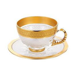 Хрустальный набор для чая FRANCIE на 6 персон 12 предметов
