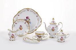 Немецкий чайный сервиз Weimar САНКТ - ПЕТЕРБУРГ на 6 персон 23 предмета ( артикул МН 30195 В )