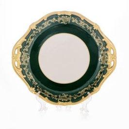 Блюдо круглое Weimar ЮВЕЛ Зеленый 28 см ( артикул МН 28276 В )