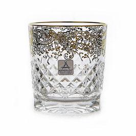 Немецкий хрусталь. Набор стаканов для виски Arnstadt ARABESKI  320 мл