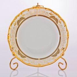 Набор десертных тарелок Weimar СИМФОНИЯ ЗОЛОТАЯ 15 см ( артикул МН 7695 В )