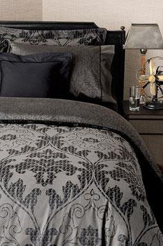 Постельное Белье VALERON SATIN JACQUARD 2 спальное CONCORD Черный