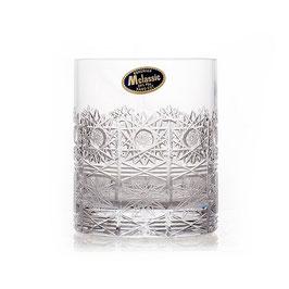 Набор хрустальных стаканов для виски Bohemia Crystal 330 мл