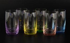 Набор стаканов АЛЕКСАНДРА КАЛОРС Bohemia Crystal 250 мл