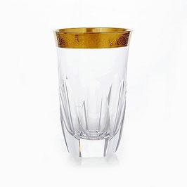 Набор стаканов  ДЖЕССИ ЗОЛОТОЙ ОБОДОК Kvetna 250 мл
