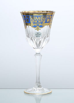 Набор бокалов для вина Astra Gold NATALIA BLUE 280 мл