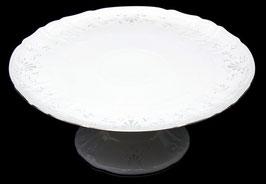 Блюдо для торта Bernadotte Платиновый Ободок 32 см