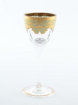 Набор рюмок Astra Gold NATALIA GOLDEN TURQUOISE DECOR 70 мл