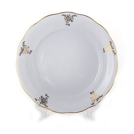 Набор подстановочных тарелок Epiag АЛЯСКА ЗОЛОТОЙ УЗОР 26 см