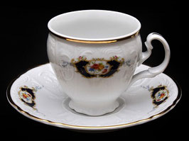 Набор для кофе Bernadotte СИНИЙ ГЛАЗ на 6 персон 12 предметов