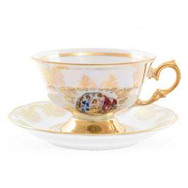 Набор для чая МАДОННА Queens Crown на 6 персон 12 предметов