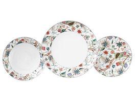 Набор тарелок для сервировки стола ThunТОМ ЛЕСНОЙ УЗОР 18 штук