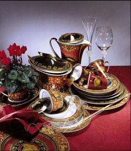 Комплект Посуды ROZENTHAL VERSACE MEDUZA RED на 12 персон 233 предмета