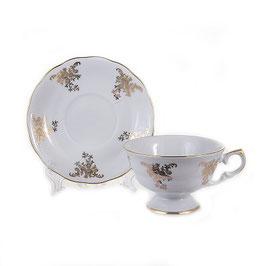 Набор для чая Epiag АЛЯСКА ЗОЛОТОЙ УЗОР на 6 персон 12 предметов