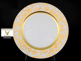 Блюдо круглое Falkenporzellan TOSCA CREME GOLD 32 см