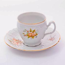 Набор для чая ОСЕННИЙ ЛИСТ Bernadotte на 6 персон 12 предметов