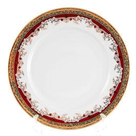 Набор закусочных тарелок Thun КРАСНАЯ ЛИЛИЯ 21 см