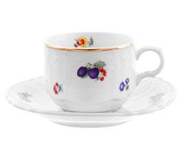 Набор для чая Bernadotte СЛИВА на 6 персон 12 предметов