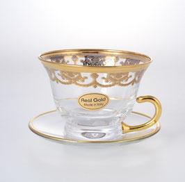 Набор для чая VENEZIANO COLOR SOFIA на 6 персон 12 предметов