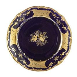 Набор подстановочных тарелок Weimar КЛЕНОВЫЙ ЛИСТ СИНИЙ 26 см ( артикул МН 10224 В )